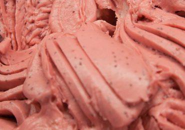 Gelato gusto Fragoline di Bosco
