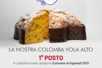La Colomba classica di Pasticceria Vignola vince il primo posto nella classifica Miglior  Colomba 2021 di Gambero Rosso.